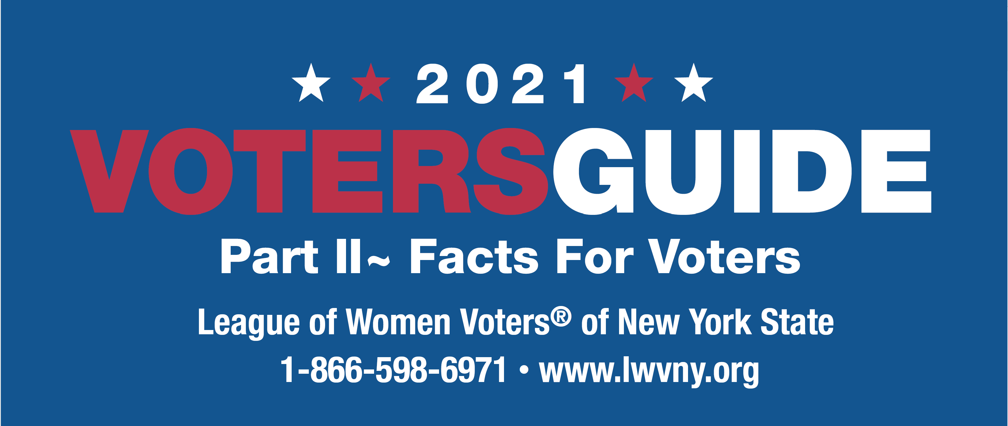 2021 Voters Guide Part II