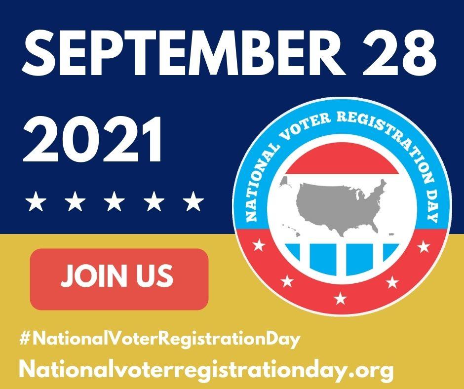 National Registration Day September 28, 2021