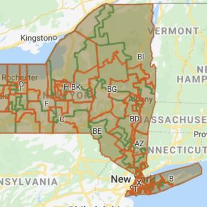 Independent NYS Redistricting Map