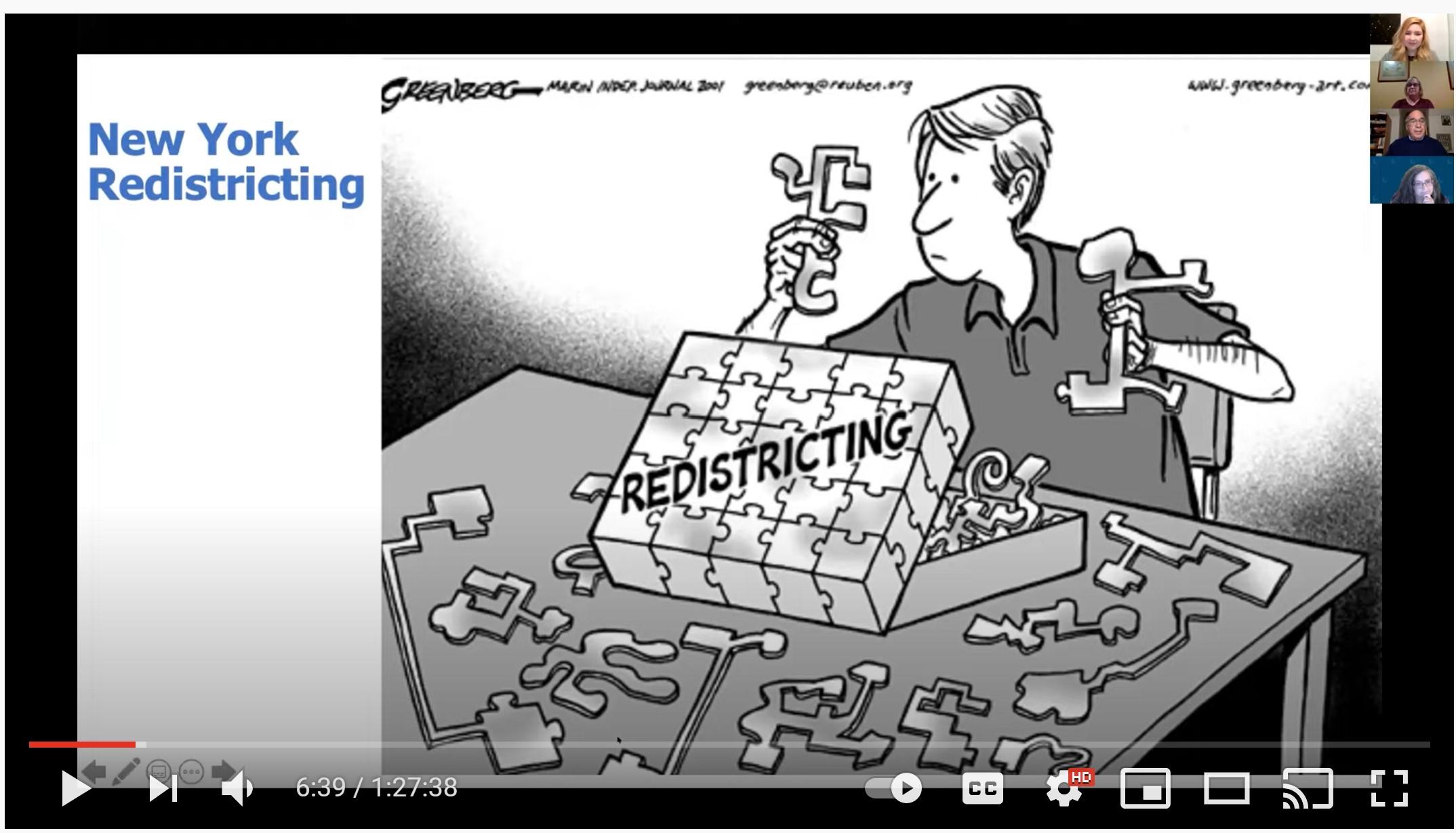 New York Redistricting Puzzle