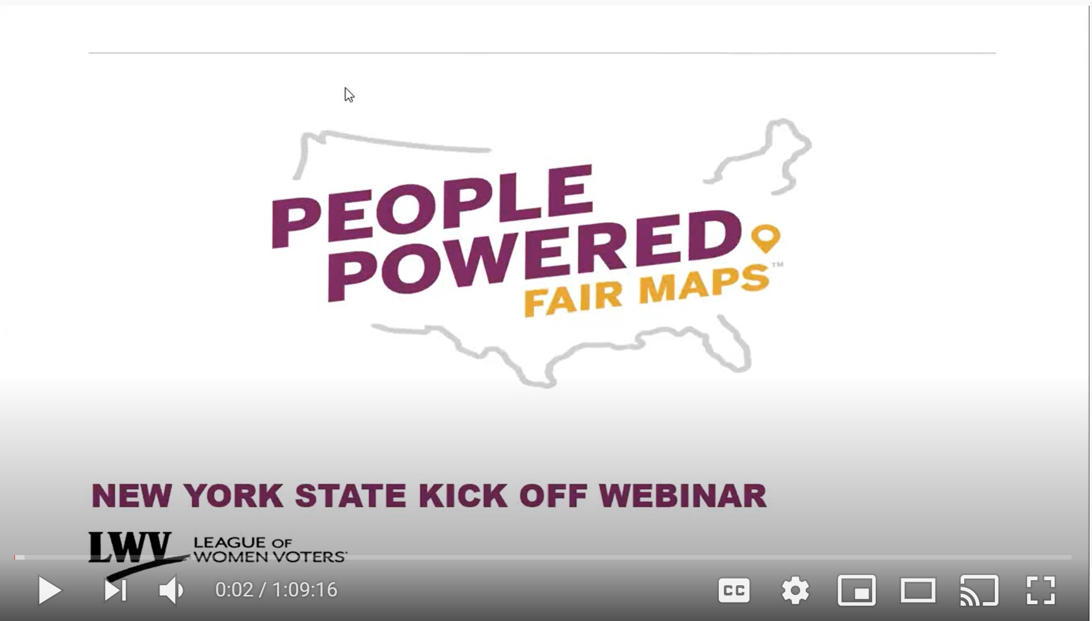 New York State People Powered Maps