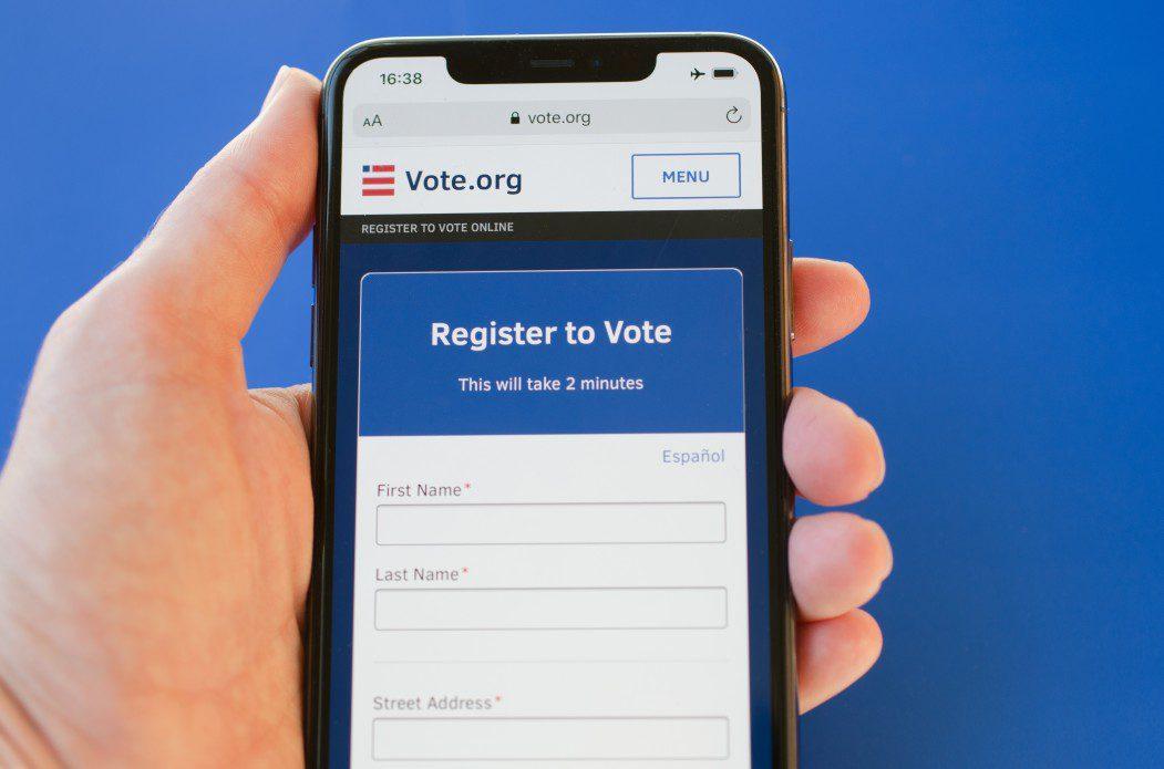 Voter Registration at vote.org