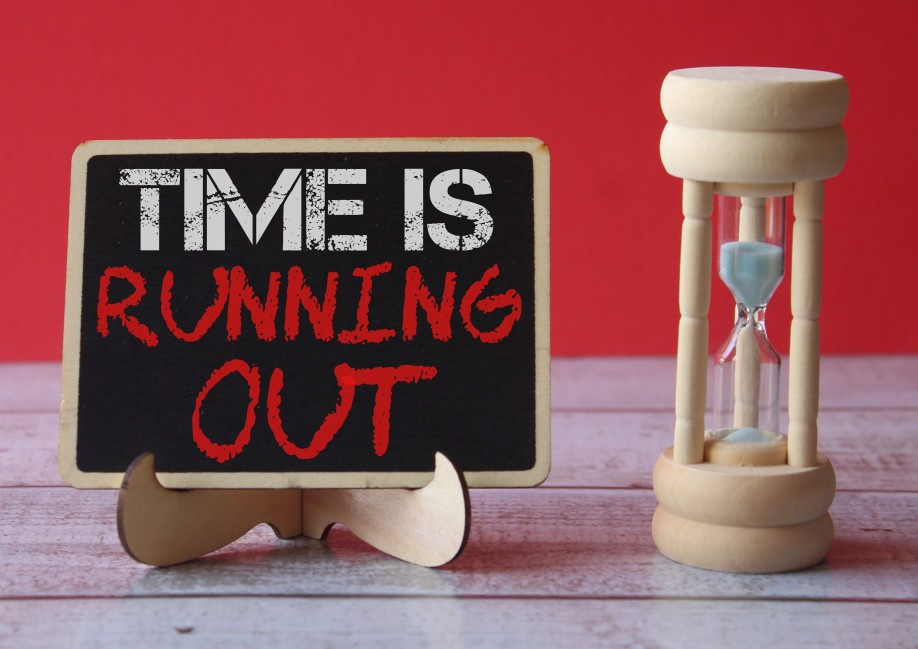 Time is Running Out